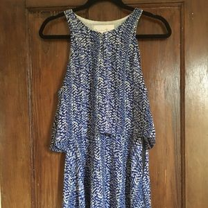 Blue Charlotte Henry midi dress